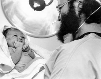 with newborn