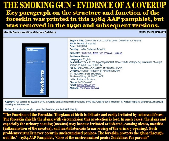Evidence of Coverup